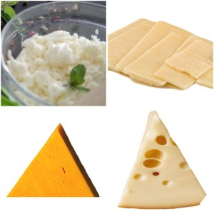 Which cheese has the most vitamin D?